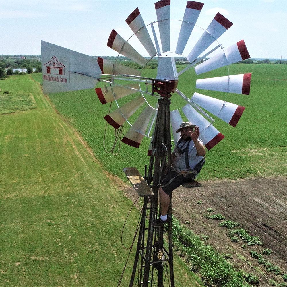Slide Windmill